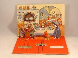 Ancien carte aiguille couture pop up relief Blanche neige 7 nains Dosco 1930-40 aN7mdMc2-08020131-387469371
