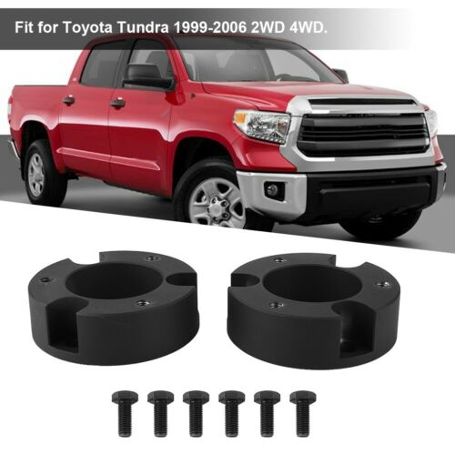 """3/"""" inch Front Leveling Lift Kit Aluminum For Toyota Tundra 1999-2006 2WD 4WD"""