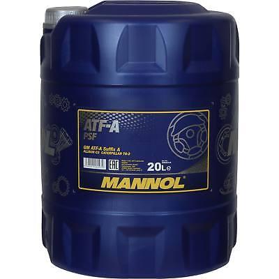 Acquista A Buon Mercato 20 Litri Originale Mannol Olio Idraulico Atf-a Psf Hydraulic Fluid Oil-mostra Il Titolo Originale Imballaggio Di Marca Nominata