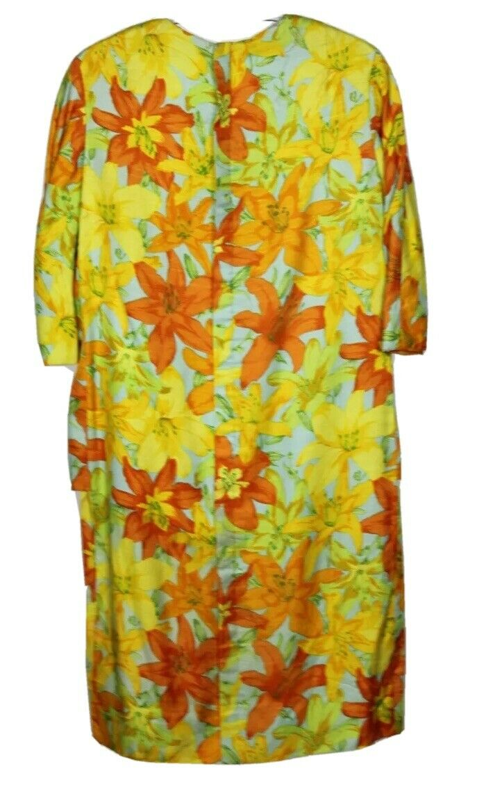 Scaasi Boutique Ruth Roaman Vintage1960s  Bold Fl… - image 4