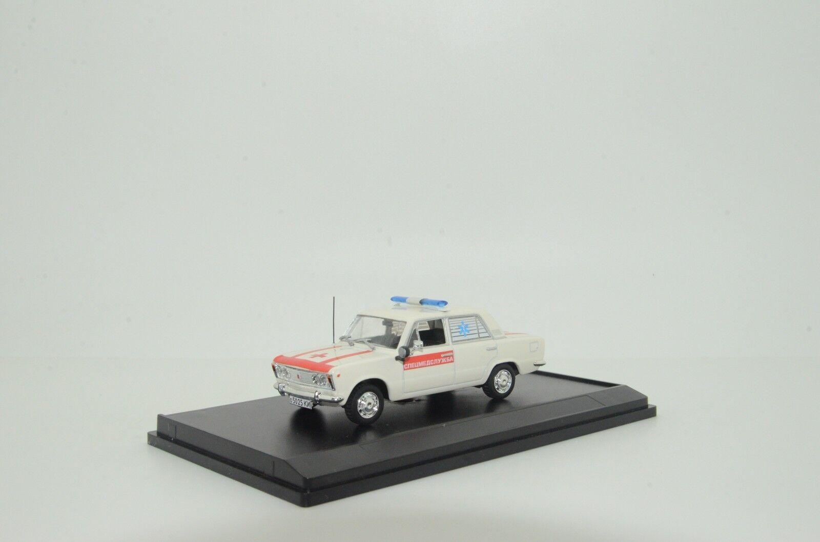 Mega RARE  Fiat Medical Car Ambulance Custom Made 1/43