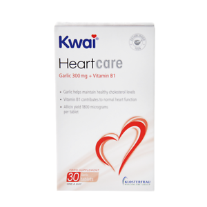 Kwai-HeartCare-Garlic-300mg-with-Vitamin-B1-30-Tablets-Best-Price