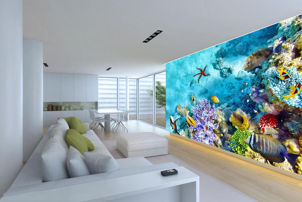 3D coloridas lecho marino 1070 Impresión De Pared Papel Papel Papel Pintado Mural Calcomanía Pared Deco AJ Wallpaper 7fa172