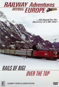 Railway Adventures Across Europe Rails Of Rigi Over The Top DVD Brand New Sealed