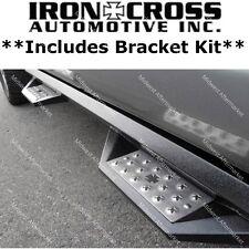 Iron Cross Black Cab Length HD Step Bars Fits 2004-2014 Ford F-150 Super Crew