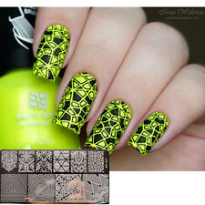 1Pc BORN PRETTY BP-L027 Nail Art Stamping Template Image Plate Illusion Theme