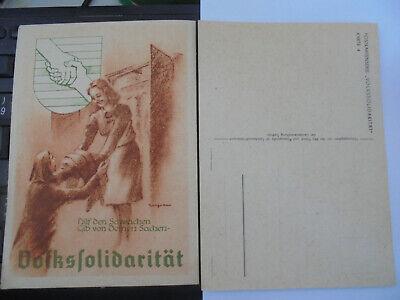 31696 Volkssolidarität Sachsen Hilf Den Schwachen Serie Karte 4 Top Exquisite Traditionelle Stickkunst