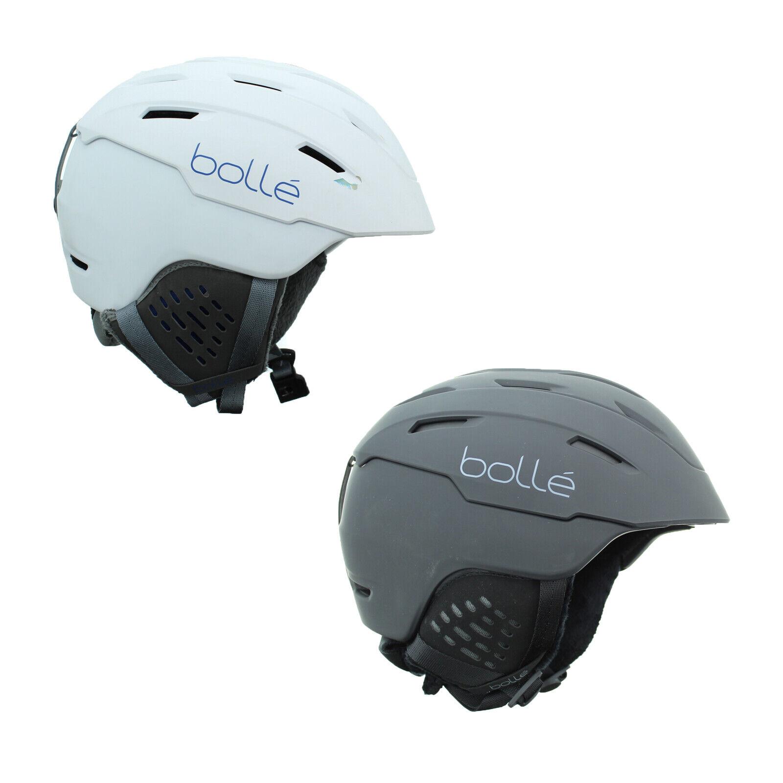 Bolle Junior Adult Unisex Hard Shell HypoAllergenic Adjustable Snow Helmet