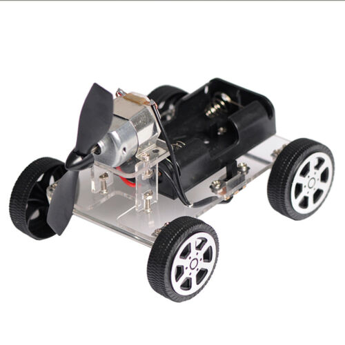 DIY Wind Power Car Science Educational Learning Toy Kit for Children Toys