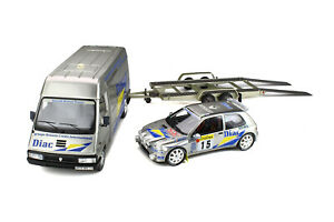 Renault RENAULT MASTER + CLIO WILLIAMS#15 RALLY SET | OTTO | 1:18