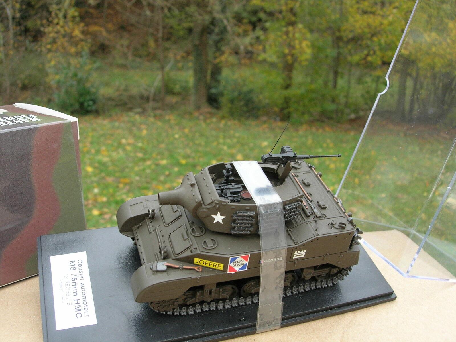 MASTER FIGHTER 1 48 TANK US Char Obusier M8 75mm HMC 5eDB Alsace 1944 48572REC