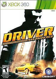 Driver San Francisco Microsoft Xbox 360 2011 For Sale Online