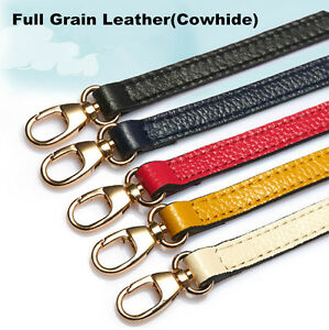 Details about Genuine LEATHER Purse Strap
