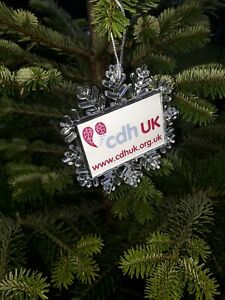 CDHUK Snowflake Picture Decoration