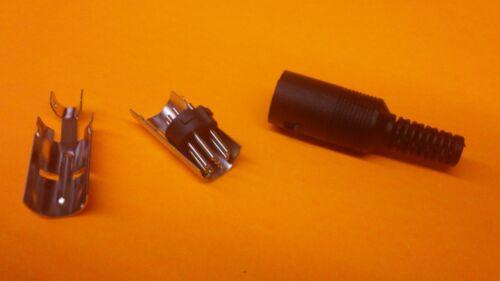 8 broches Deutsches Institut für Normung Connecteur avec plastique noir poignée mâle - Qualité Premium