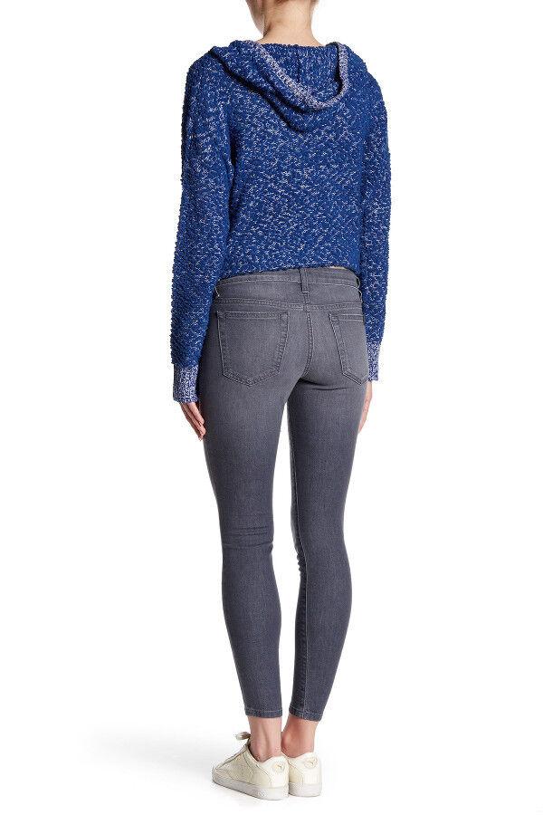 NWT JOE'S Womens Mid-Rise Skinny Ankle Stretch Jeans Size 29 Freda Grey JOES NEW