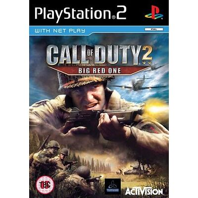 PlayStation2 Call of Duty 2: The Big Red One (PS2) VideoGames