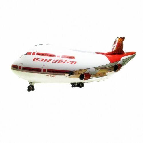 Super großes Passagierflugzeug in der Farbe weiß 82 x 42 cm