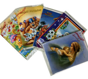 Image Is Loading 20000x Assorted Musical Greeting Cards Birthday Christmas English