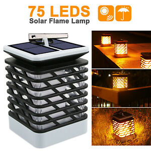 Impermeabile-Lampada-luce-faretto-esterno-energia-solare-72-LED-da-giardino