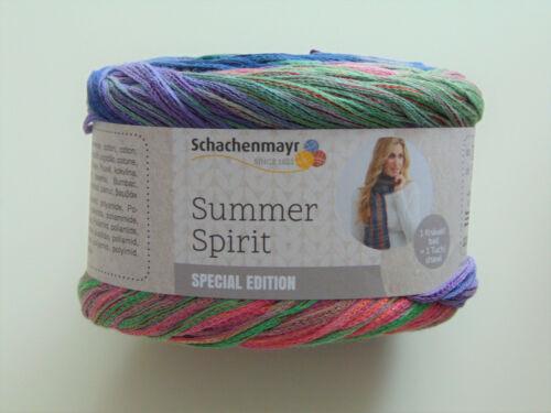 Summer Spirit-Schachenmayr 100g//11,45 € 100g-Garn-lana