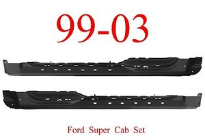 Image Is Loading 99 03 Ford Super Cab Extended Rocker Panel