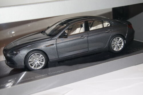Bmw 6er gran coupé f06 2013 Space gris 1:18 Paragon nuevo /& OVP 97031
