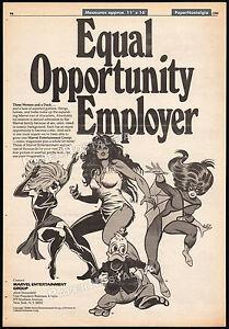 MARVEL-ENTERTAINMENT-Original-1980-Trade-AD-poster-HOWARD-THE-DUCK-SHE-HULK