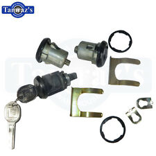 1986-1992 Camaro Door & Trunk Lock Kit Later Key Style 441 New