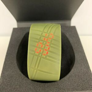 MADOKADOKE-Green-Bracelet-LED-Watch-by-Ross-McBride