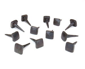 Image Is Loading 20 Square Head Nails Small Wrought Iron Decor