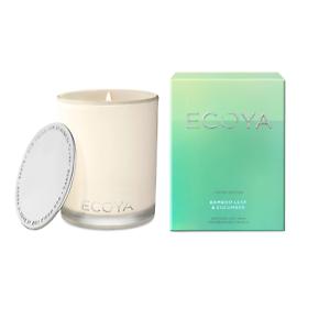 Ecoya-Bamboo-Leaf-amp-Cucumber-Soy-Wax-Fragranced-Candle-400g-Last-Chance