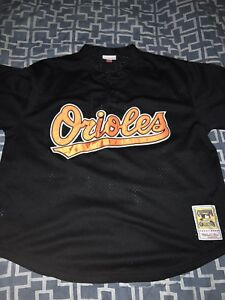 da42104b6 Image is loading MITCHELL-amp-NESS-BALTIMORE-ORIOLES-BATTING-PRACTICE-JERSEY -