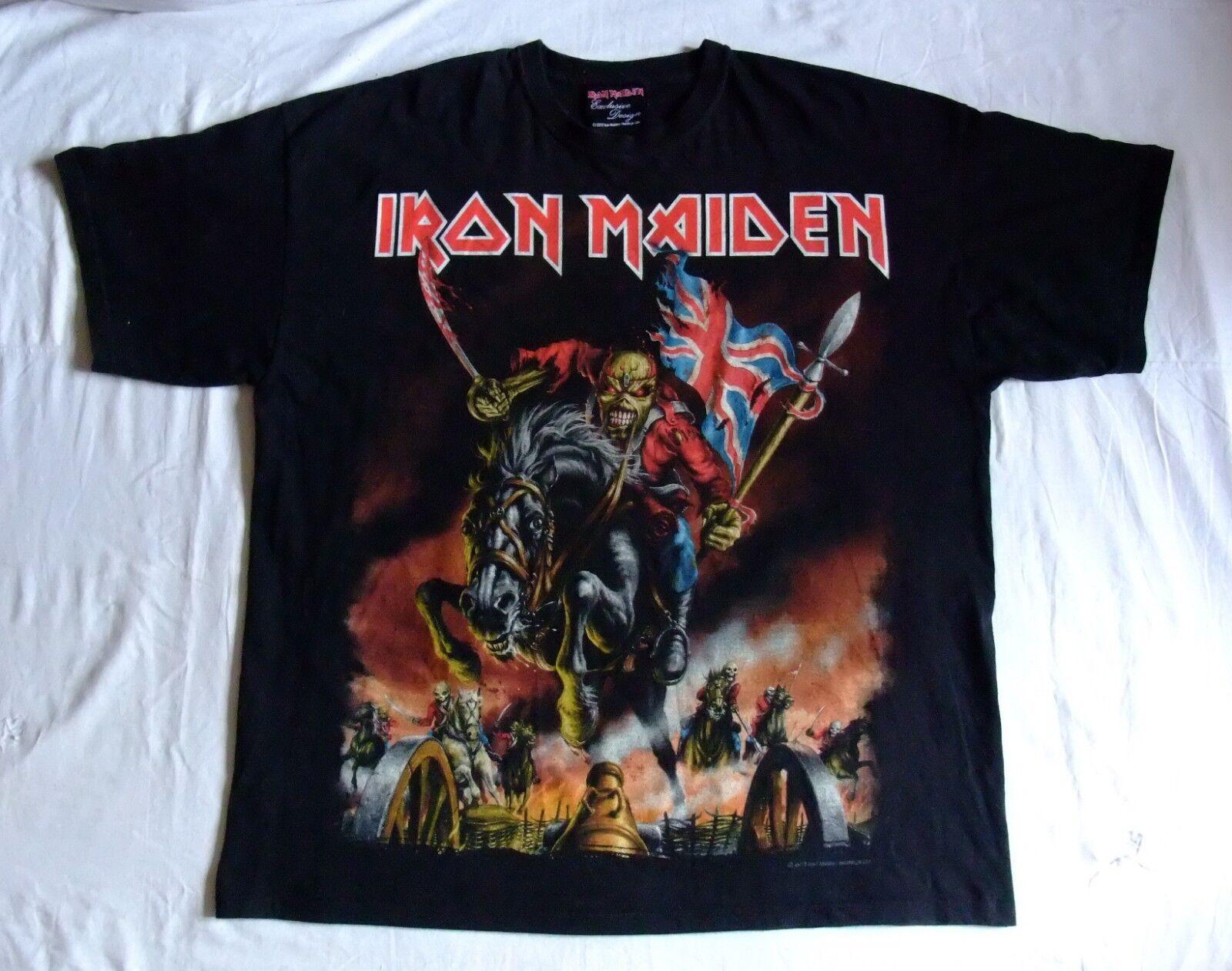 Shirt Iron Maiden Maiden England 2012 North American tour official tshirt 2XL