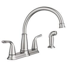 Buy Moen Brecklyn 2 Handle Standard Kitchen Faucet Side Sprayer