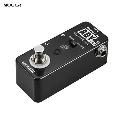 mooer aby mkii channel switch guitar effect pedal true bypass full metal w3f1 ebay. Black Bedroom Furniture Sets. Home Design Ideas