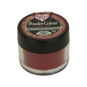Rainbow Dust Color en Polvo colorante decorativo comestible- Chile Rojo