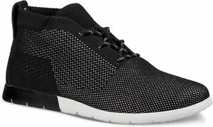 Image is loading UGG-Australia-Freamon-Hyperweave-Black-Chukka-Boot-Men-