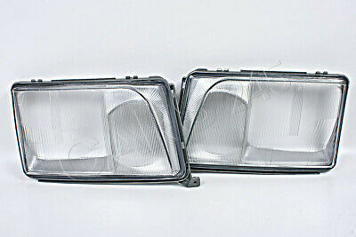 Headlight Front Lamp Lens EU Type LEFT LH Fits MERCEDES W124 1985-1993