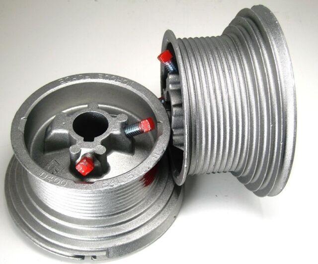 Pair Garage Door Cable Drum for up to 18/' High Doors Standard Lift D525-216