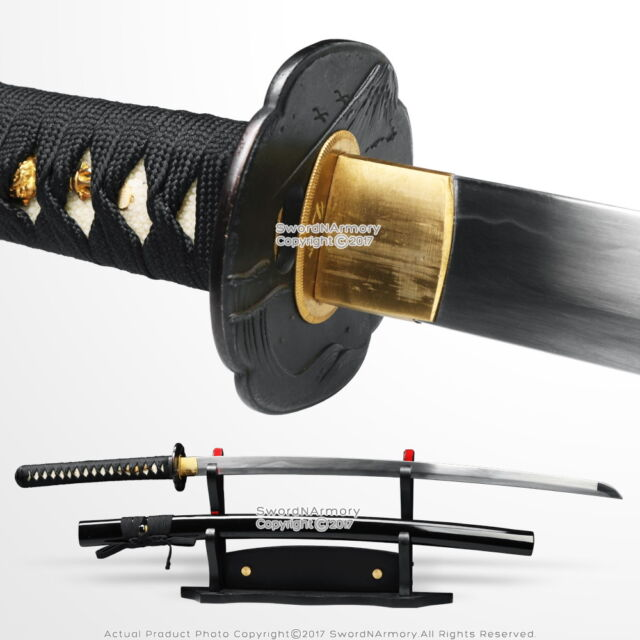 Unsharpened Practice Training Katana Iaido Iaito Samurai Sword DH Spring  Steel