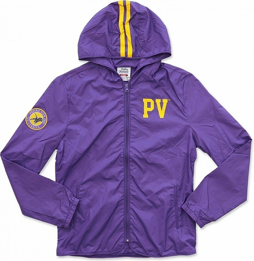 Big Boy Prairie View A&M Panthers S2 Thin & Light Ladies Jacket with Pocket Bag