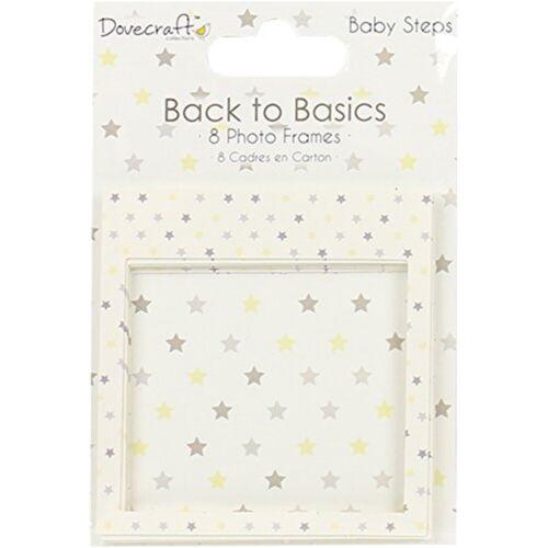 Baby Steps Dovecraft Back To Basics cadres photo 8//Pkg