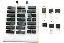 Linear Ic Kit Analog Assortment Of Op Amps Comparators Regulators Converters