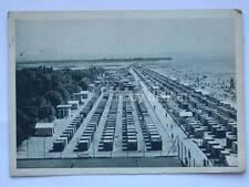 GRADO veduta della spiaggia Gorizia vecchia cartolina