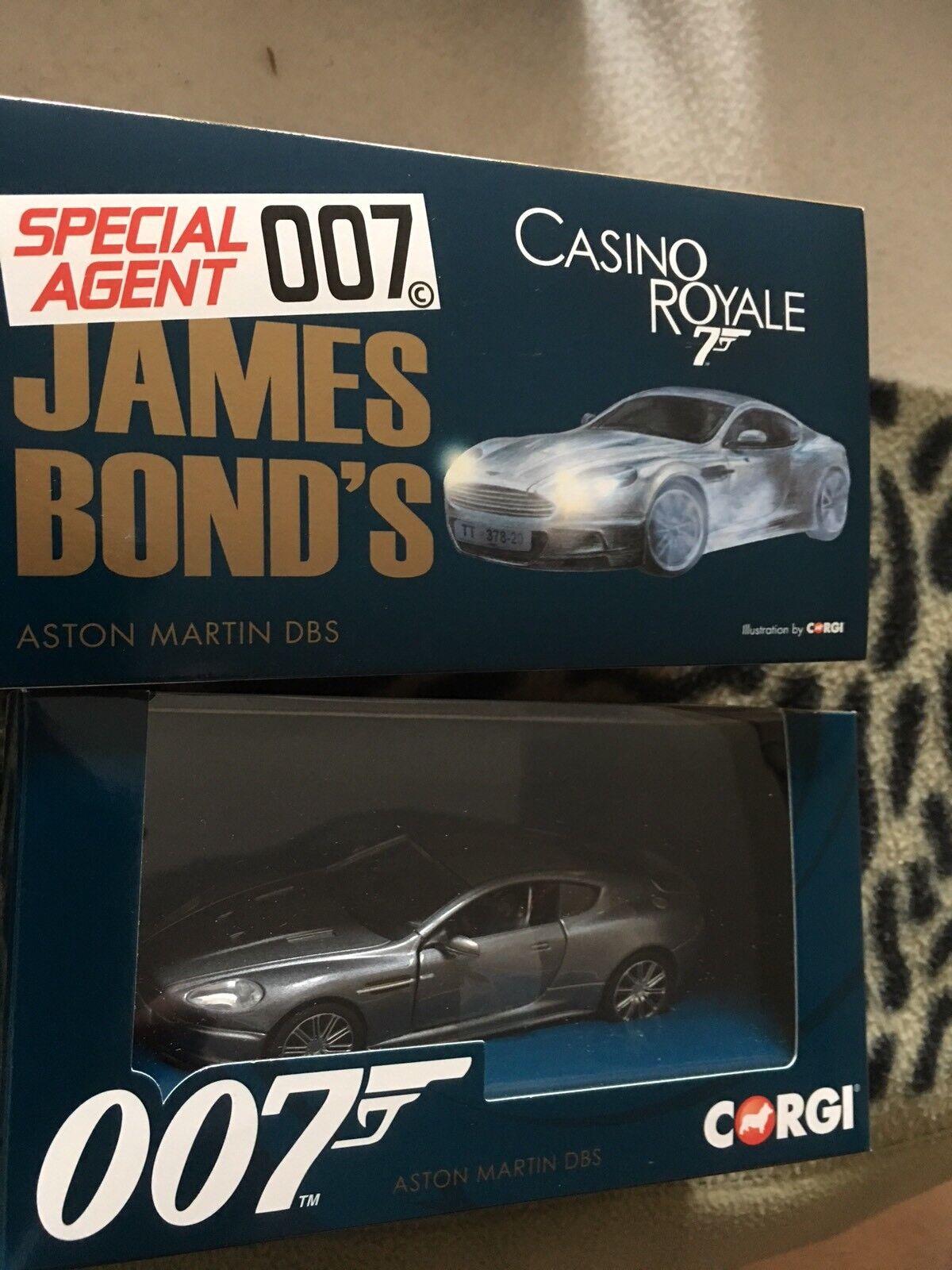 James  Bond Casino Royale Aston Martin DBS Corgi 2017 Model Car