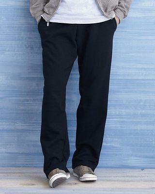 Gildan Sport Pants Dryblend  Open Bottom Pocketed Sweatpants S M L XL 2X 12300