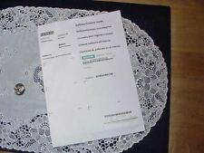Siemens 6sl3054 4eb00 0aa0 Multimedia Card 64 Single Software License Sealed
