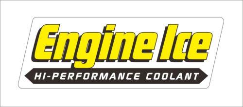 1 x Engine Ice Vinly Danger Motorcycle Car Hood Door Window Bumper Sticker Decal