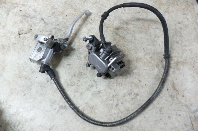 97 Honda Vt 600 Vt600 Vlx Shadow Front Brake Caliper  U0026 Master Cylinder Assembly